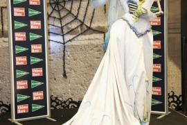 María Pérez Tomás en el II concurso de disfraces de Halloween