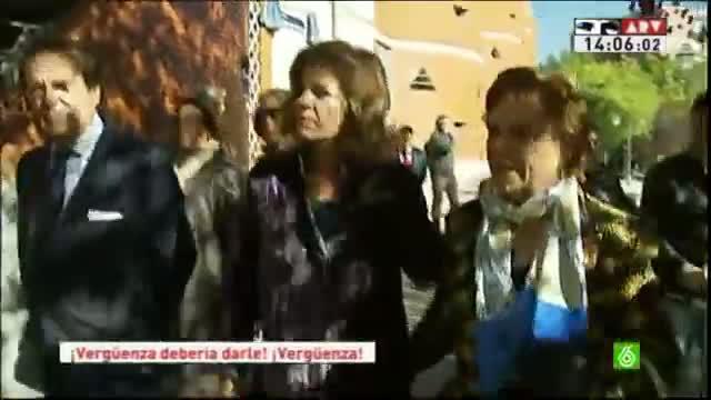 Ana Botella, abucheada en un acto de homenaje a las víctimas del Madrid Arena