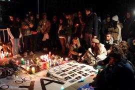 Familiares y amigos recuerdan a las víctimas del  Madrid Arena con una vigilia