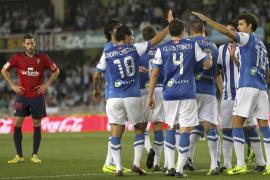 La Real golea al Osasuna a tres días de enfrentarse al Manchester