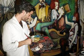Carlos Prieto culmina el lienzo 'Aída' tras «más de 200 noches de soledad»
