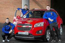 El M. United y Chevrolet subastan un Trax