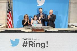 Twitter se dispara más de un 72 % en su salida a Bolsa en Wall Street