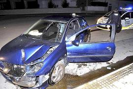 La policía interviene en Palma en otros dos accidentes con conductores ebrios