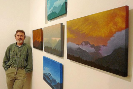 Àngel Pascual Rodrigo celebra su 'Mitja vida a Mallorca' como artista