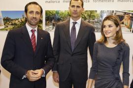 El president Bauzá acompaña a los príncipes de Asturias a California
