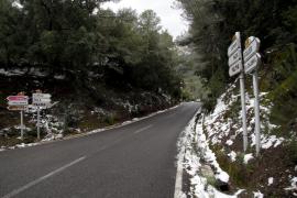 Un frente traerá nieve, lluvia y frío a Mallorca a partir del viernes