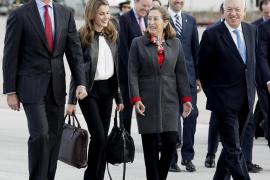Bauzá inicia el viaje oficial a California junto a los Príncipes de Asturias
