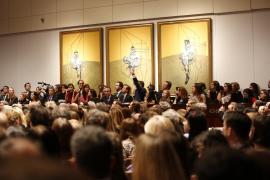 Un tríptico de Francis Bacon se convierte en la obra  más cara jamás subastada
