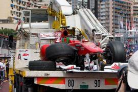 Fernando Alonso no podrá participar en la sesión de clasificación y saldrá último