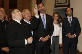 Los Príncipes y Bauzá rinden homenaje a Fray Junípero Serra en California
