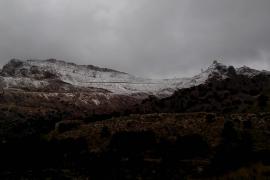 La primera nevada de la temporada llega a Mallorca