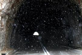 El frío y la nieve llegan a Mallorca