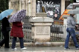 Balears estará este domingo en alerta amarilla por lluvias fuertes