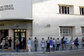 Más de 2.200 ciudadanos de Balears se quedan sin paro por irregularidades leves