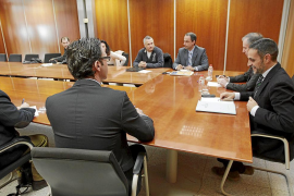 IBIZA REUNION CONSELL Y GOVERN CON SINDICATOS PRESENTACION PRESUPUEST