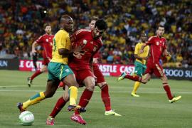 Una España irreconocible vuelve a Sudáfrica con derrota (1-0)