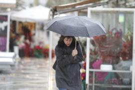 Las lluvias dejan 80 litros por metro cuadrado en Escorca y 57 en Lluc