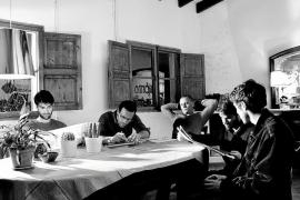 PALMA - FOTO PROMOCIONAL DE LA BANDA DE MUSICA MALLORQUINA, OSO LEONE .