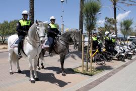 La Policía toma el  control de la Platja de Palma