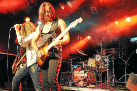 El rock mítico de Deep Purple suena en Palma con un tributo de Pur.pendicular