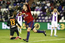 Oier decide un mal partido entre Osasuna y Valladolid abocado al empate