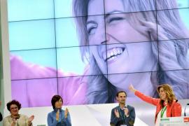 Díaz, nueva secretaria general del PSOE-A con un respaldo del 98,63%