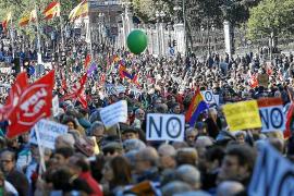 Manifestaciones en toda España en rechazo a los recortes del Gobierno