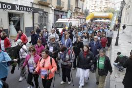 Más de 2.000 personas marchan en Palma contra la violencia de género