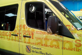 Roban en una ambulancia mientras los sanitarios atendían un servicio, en Palma