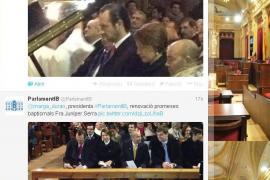 MÉS exige al Parlament la retirada de un tweet que muestra a Bauzá en misa