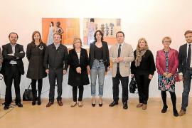 Inauguración de la exposición del Certamen d'Arts Plàstiques Dijous Bo 2013