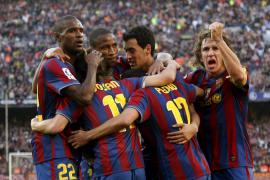 El Barcelona se proclama campeón; Tenerife, Valladolid y Xerez descienden a la Liga Adelante