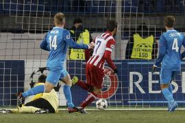 El Atlético saca un empate de su visita a Rusia (1-1)