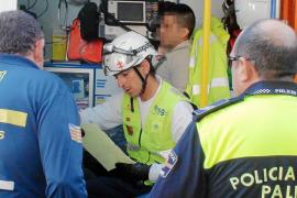Detenido en Palma por agredir a los policías que lo rescataron de un incendio en su casa