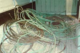 Detenido un hombre en Palma por robar cable de cobre valorado en 53.000 euros