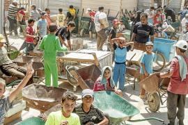 Un millón de niños sirios refugiados, en riesgo de ser una generación perdida