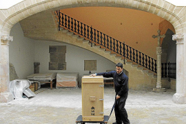 Las piezas del Museu de Mallorca llegan a Ca la Gran Cristiana