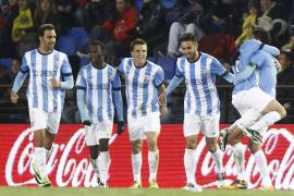El Málaga rescata un punto ante el Villarreal en el último suspiro