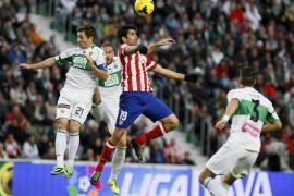 El Atlético de Madrid sentencia a un buen Elche en la segunda mitad