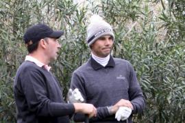 El equipo de Nadal aventaja al de Olazábal  en el torneo de golf benéfico