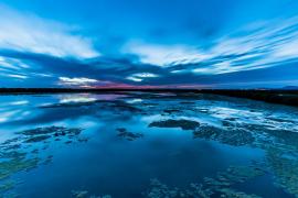 Reflejos azules
