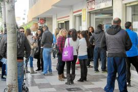 Más de 26.000 desempleados de Balears no cobran ningún tipo de ayuda económica