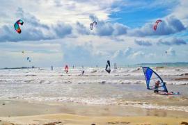 Kite surf en sa Ràpita