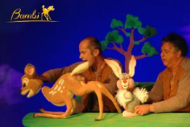 Bambi en teatro de marionetas