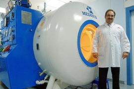 La ola de frío dispara la demanda de tratamientos en la cámara hiperbárica