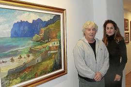 La galería Vanrell homenajea la trayectoria del artista Mateu Llobera