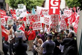 La huelga general del sector público se retrasa al 8 de junio