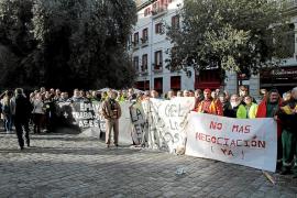 El comité de empresa de Emaya propone huelga indefinida desde el 26 de diciembre