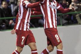 El Atlético resuelve la eliminatoria en veinte minutos